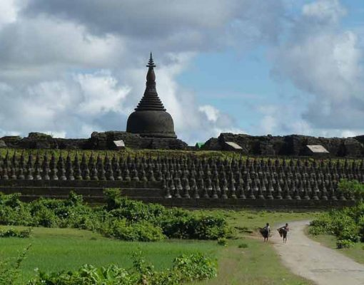 """The wide, wide West"" To the territory of Mrauk Oo"